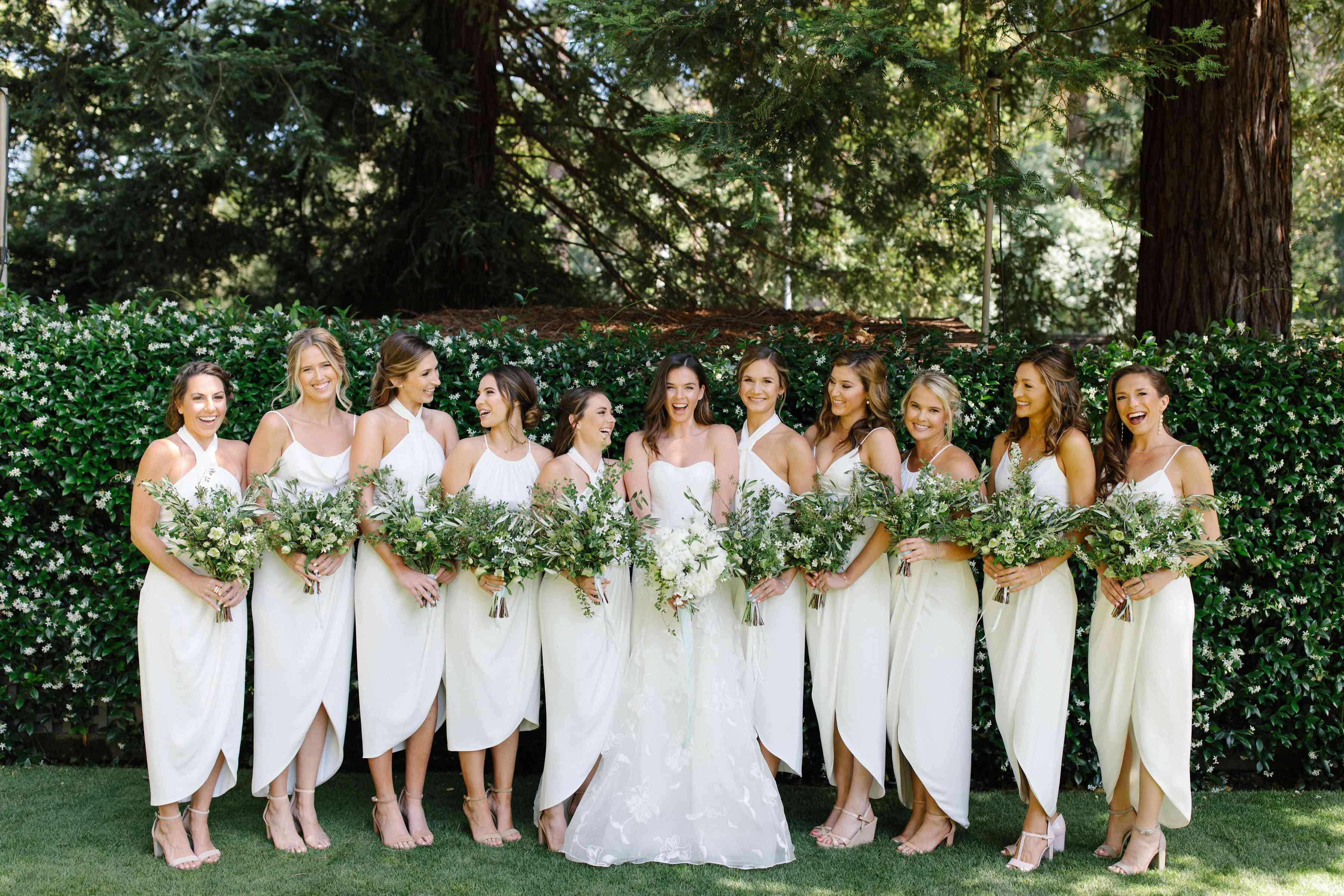 <p>white tulip bridesmaid dresses</p><br><br>