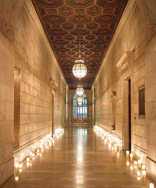 This Super-Glam Wedding at the New York Public Library Is NYC at Its
