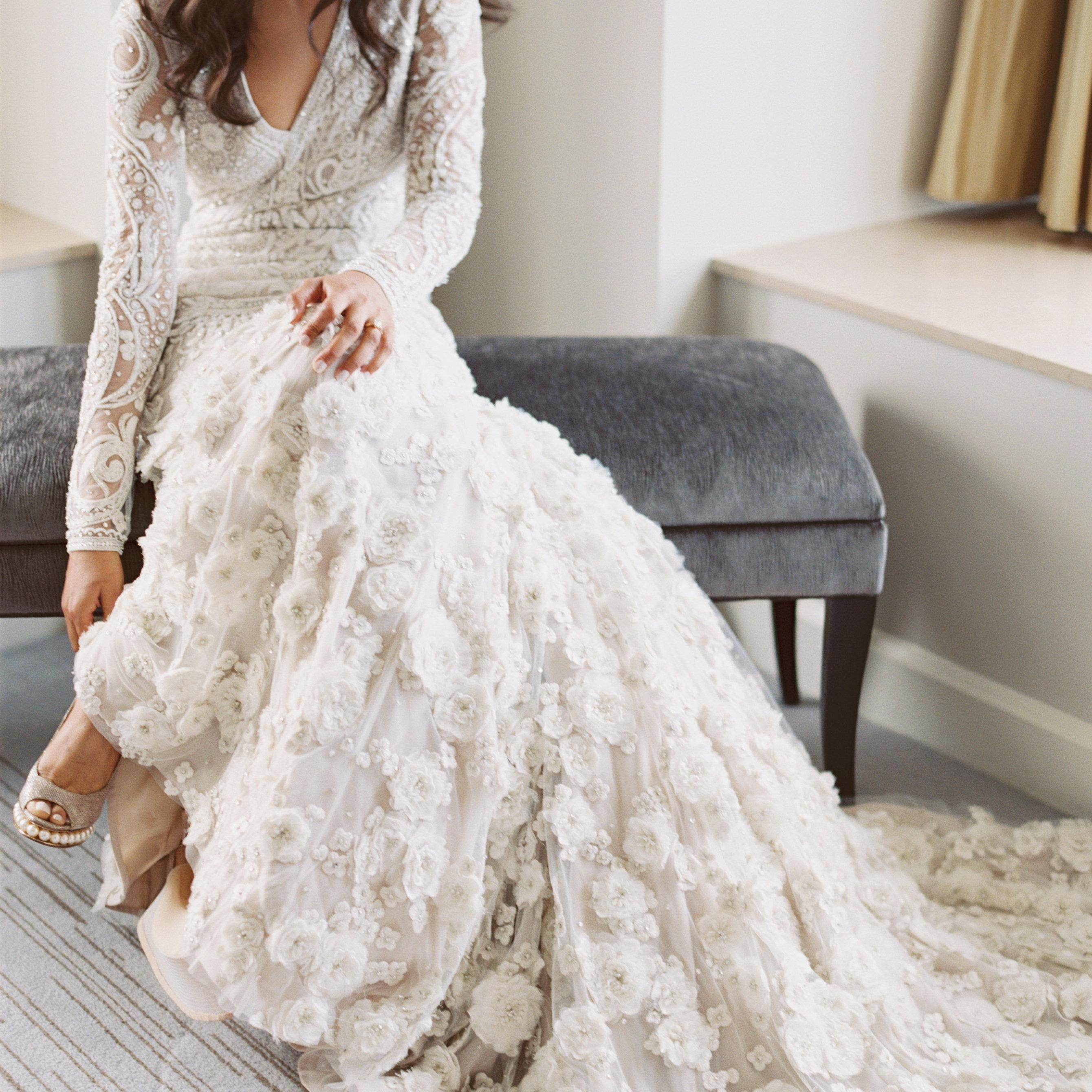 These 13 Real Brides Wore The Coolest Shoes