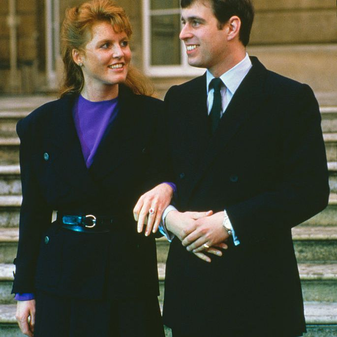 Prince Andrew engagement