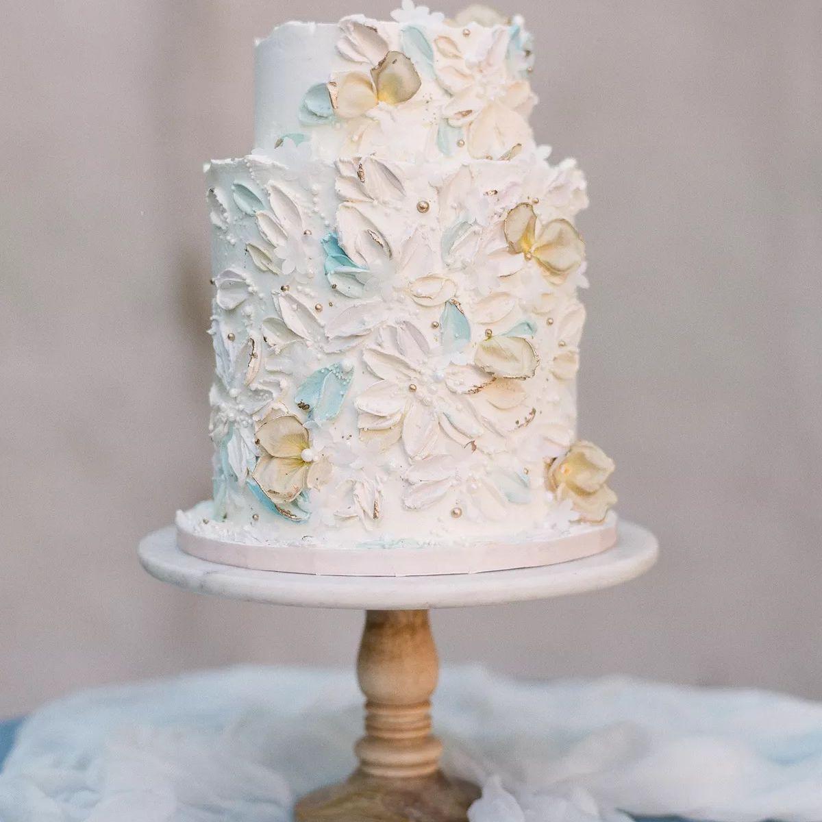 buttercream palette cake
