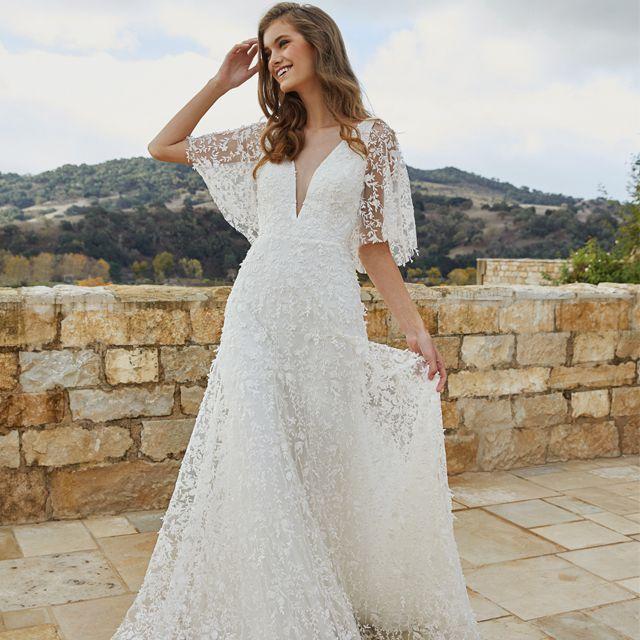 Jenny Yoo Lourdes Wedding Gown $1,696