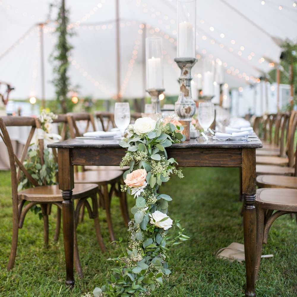 Garden romance tablescape