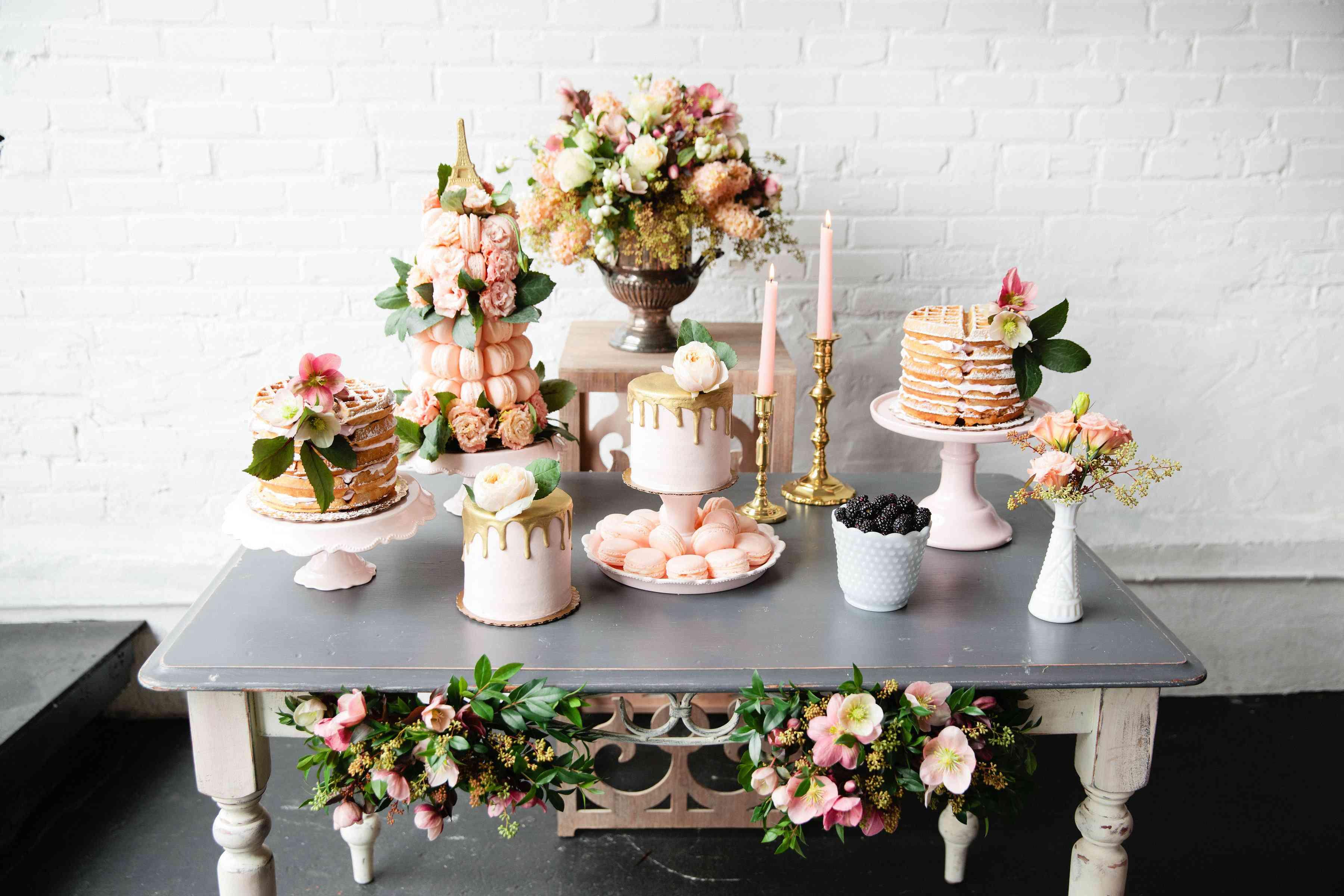 Dessert Table Ideas: 40 Unique Wedding Dessert Table Setups