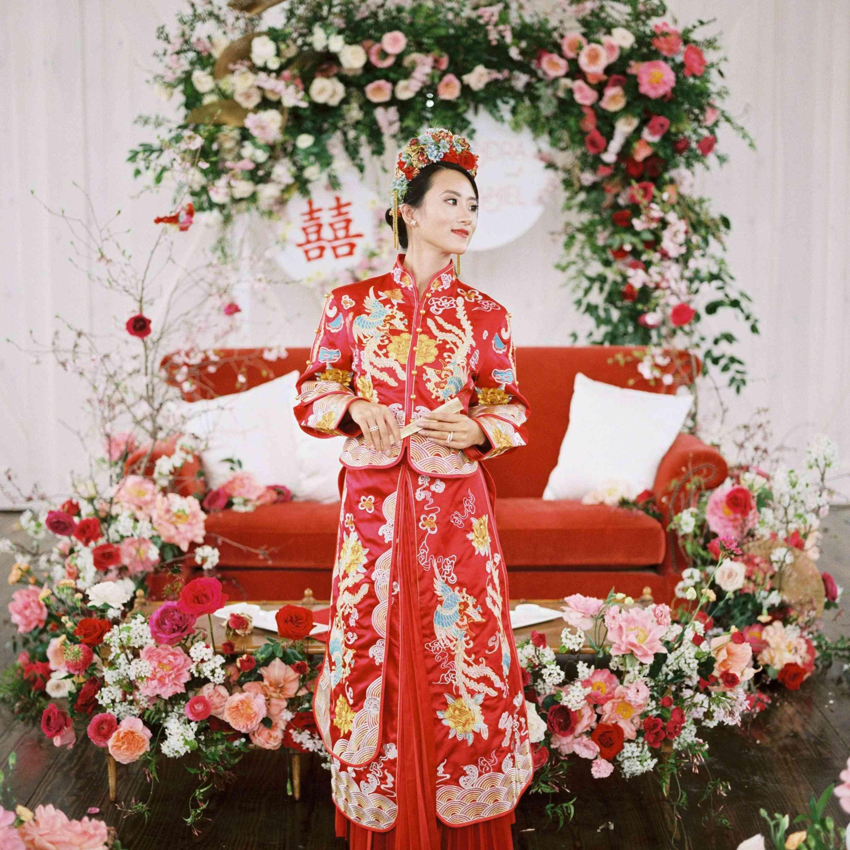 East Meets Dress wedding dress