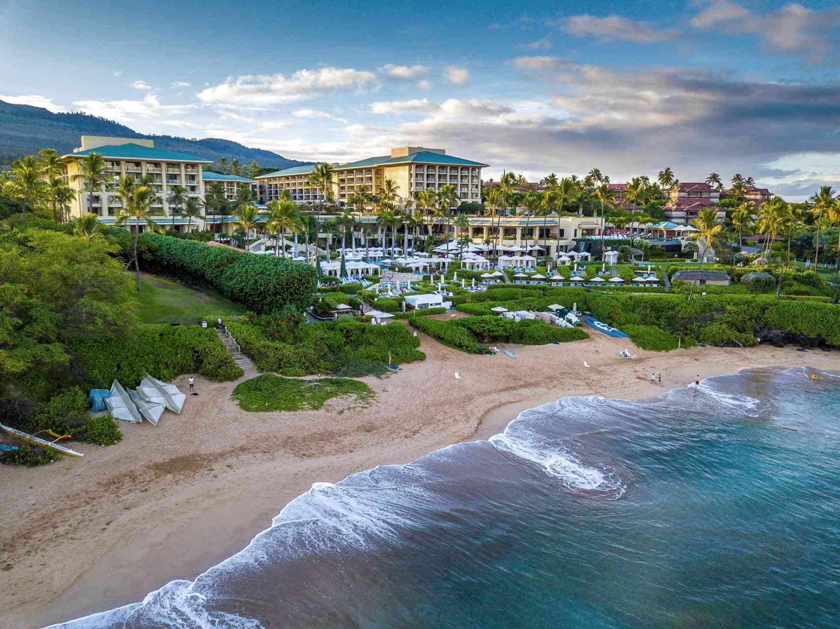 beachside resort