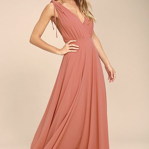 b3d91a55c13cb 16 Coral Bridesmaid Dresses for a Spring Or Summer Wedding