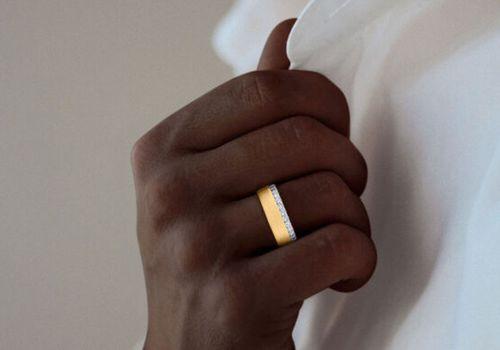 engagement ring men
