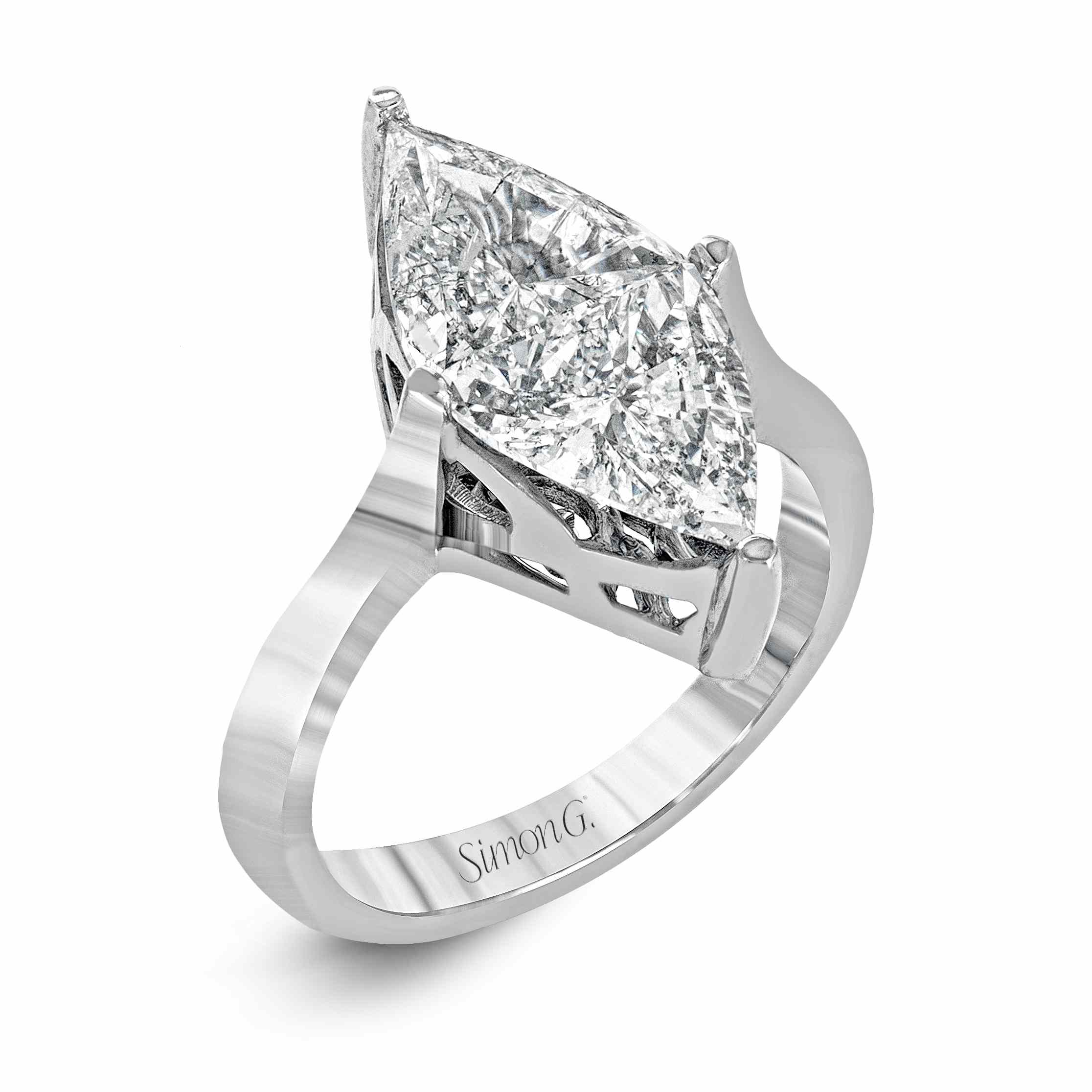 24 Marquise Engagement Rings That Prove The Style Is Totally Back