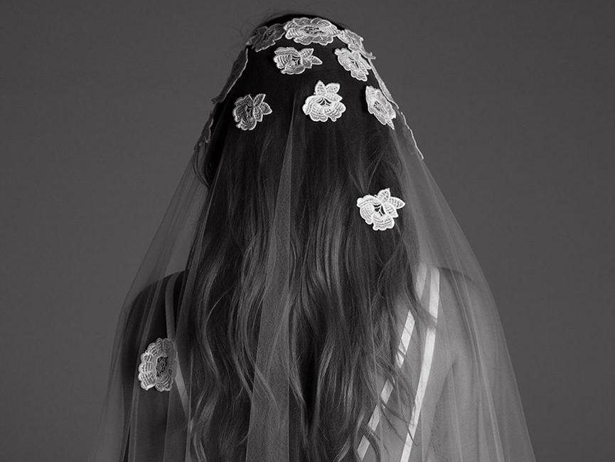 Women Veil Hair Comb White Two Layer Wedding Bridal Simple Hair Accessories D