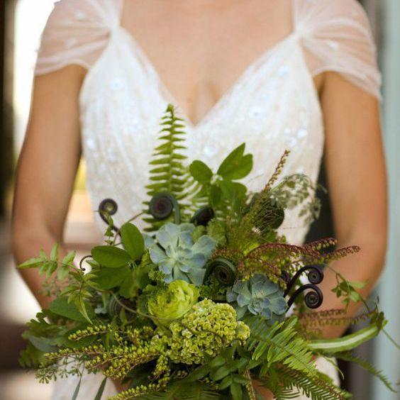 Succulent bouquet.