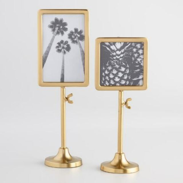 Gold Telescoping Tabletop Frame