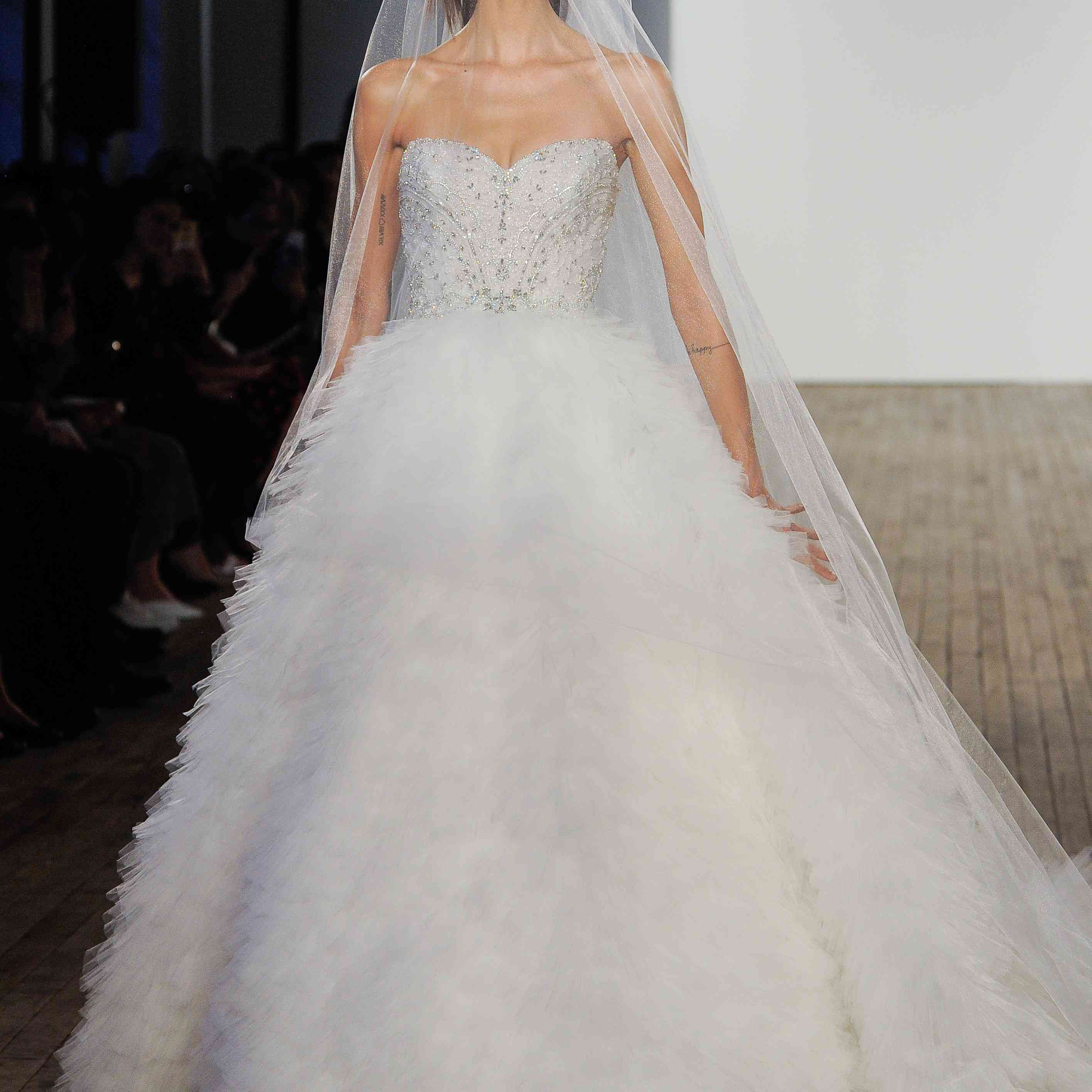Lazaro Bridal Wedding Dress Collection Fall 2020