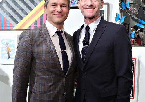 David Burtka and Neil Patrick Harris attend 2019 Chefs For Kids' Cancer.
