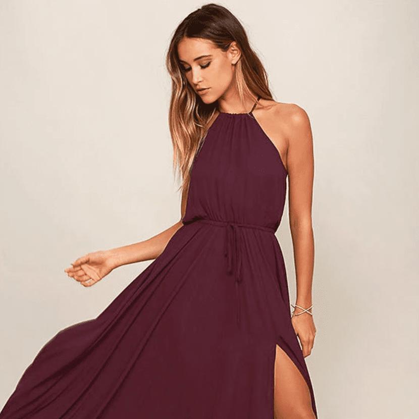 34 Ultra Stylish Plum Bridesmaid Dresses