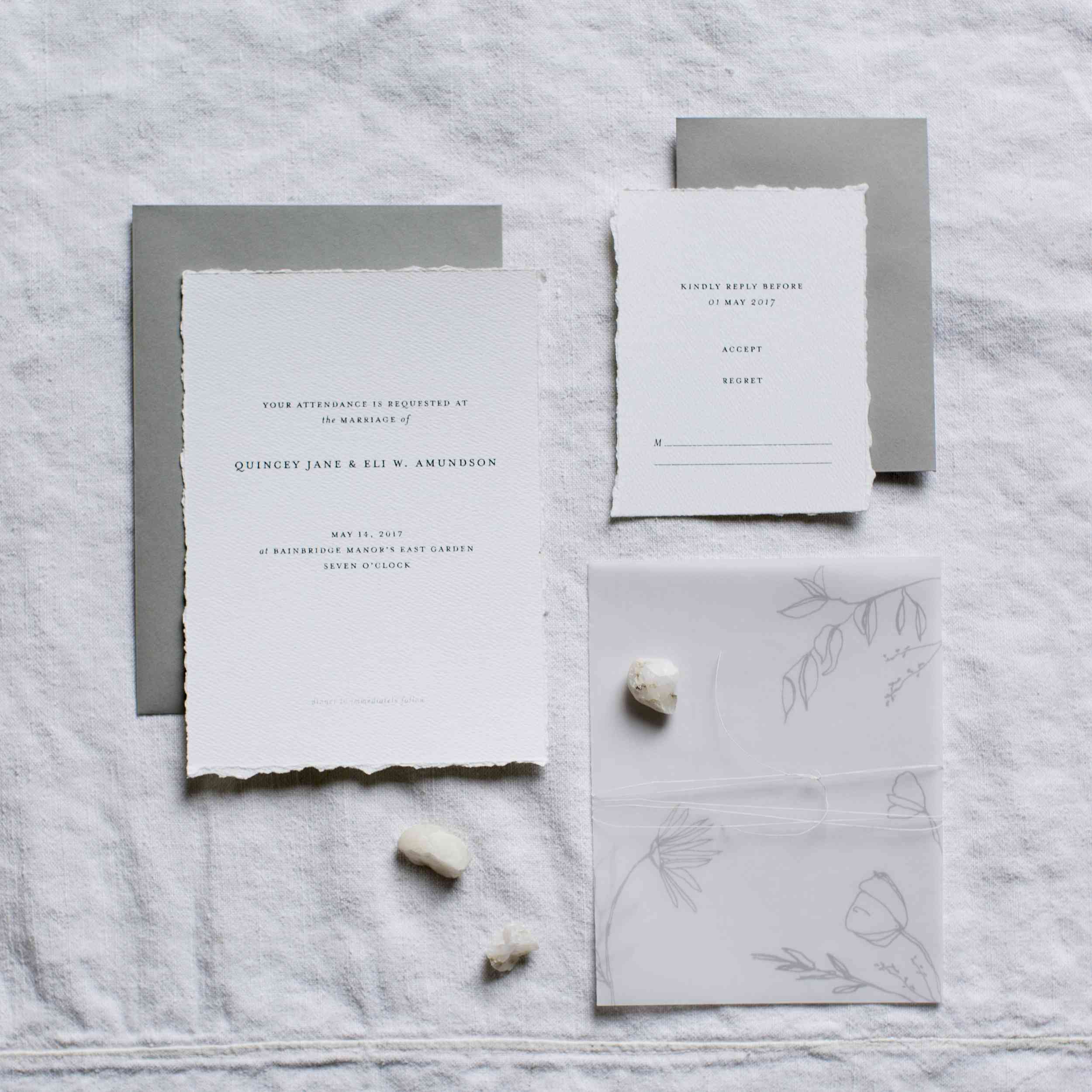 8 Elegant Wedding Invitations To Set The Tone For Your Ceremony In Style