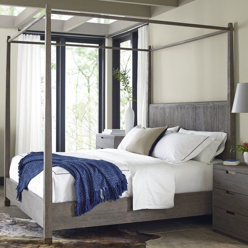 Palmer Wood Canopy Bed