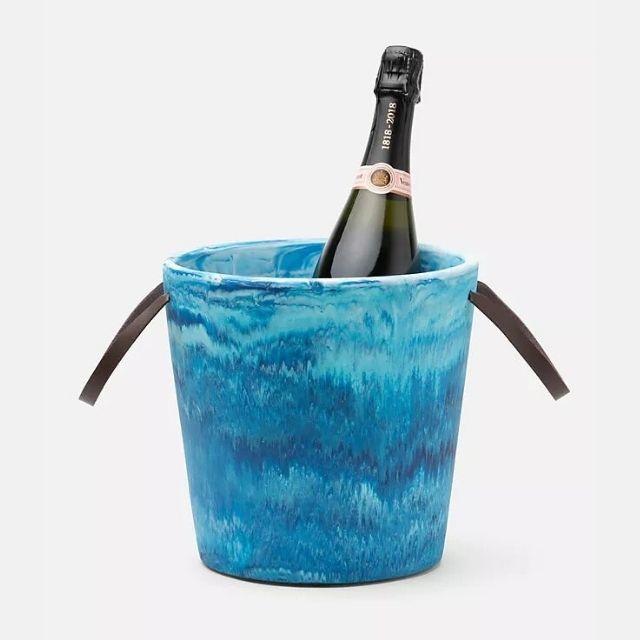 Blue Pheasant Wesley Resin Champagne Bucket