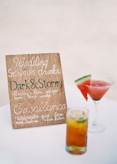 Wedding Signature Drinks.How To Create Your Signature Wedding Cocktail