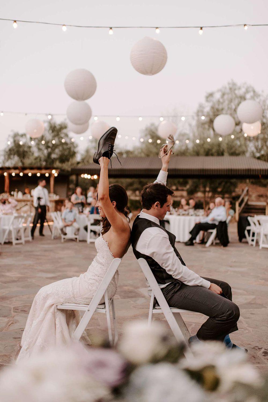 wedding entertainment shoe game