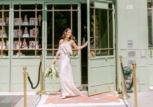Cara Santana at Ladurée Bridal Shower