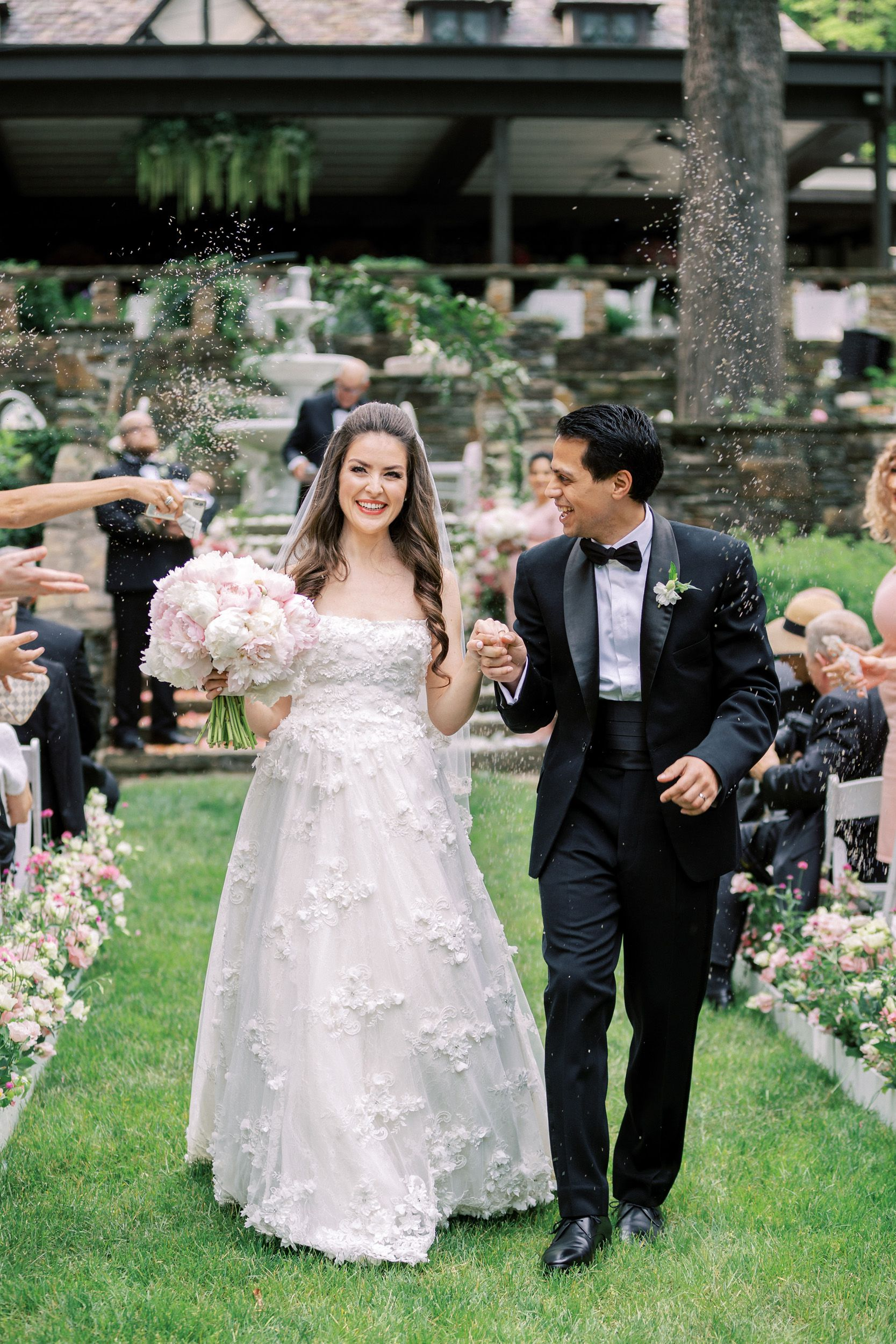 A Romantic Parisian Inspired Wedding At The Club At Hillbrook In Ohio