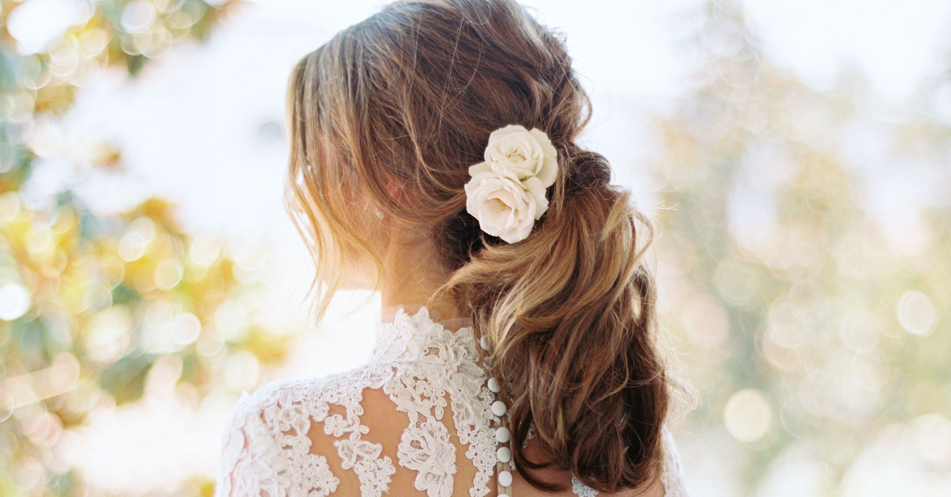21 Ponytail Wedding Hairstyles