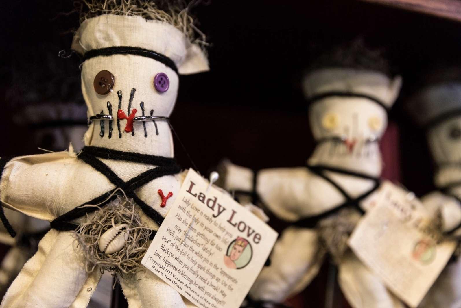 Love spell voodoo dolls in New Orleans