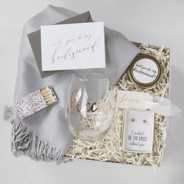 Fox Blossom Bridesmaid Gift Box