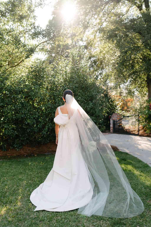 augusta wedding, bride