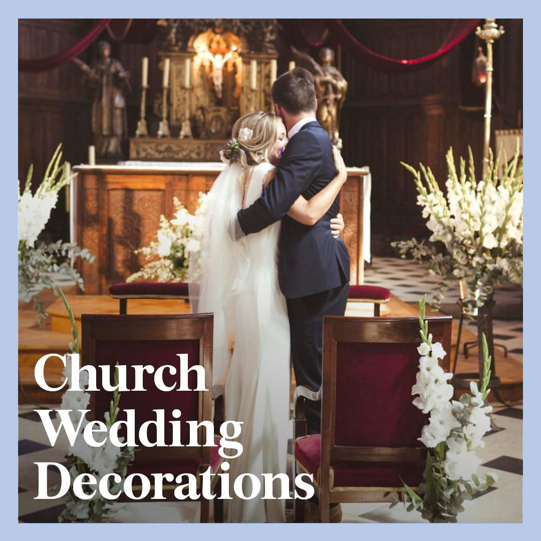 Wedding Decoration Ideas For Church Ceremony: 9 Church Wedding Decorations To Enhance Your Ceremony