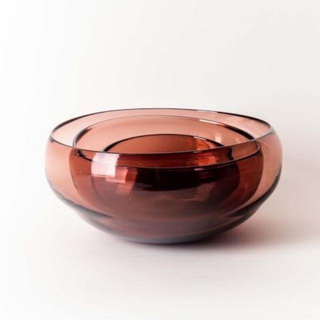 Gary Bodker Glass Serving Bowl