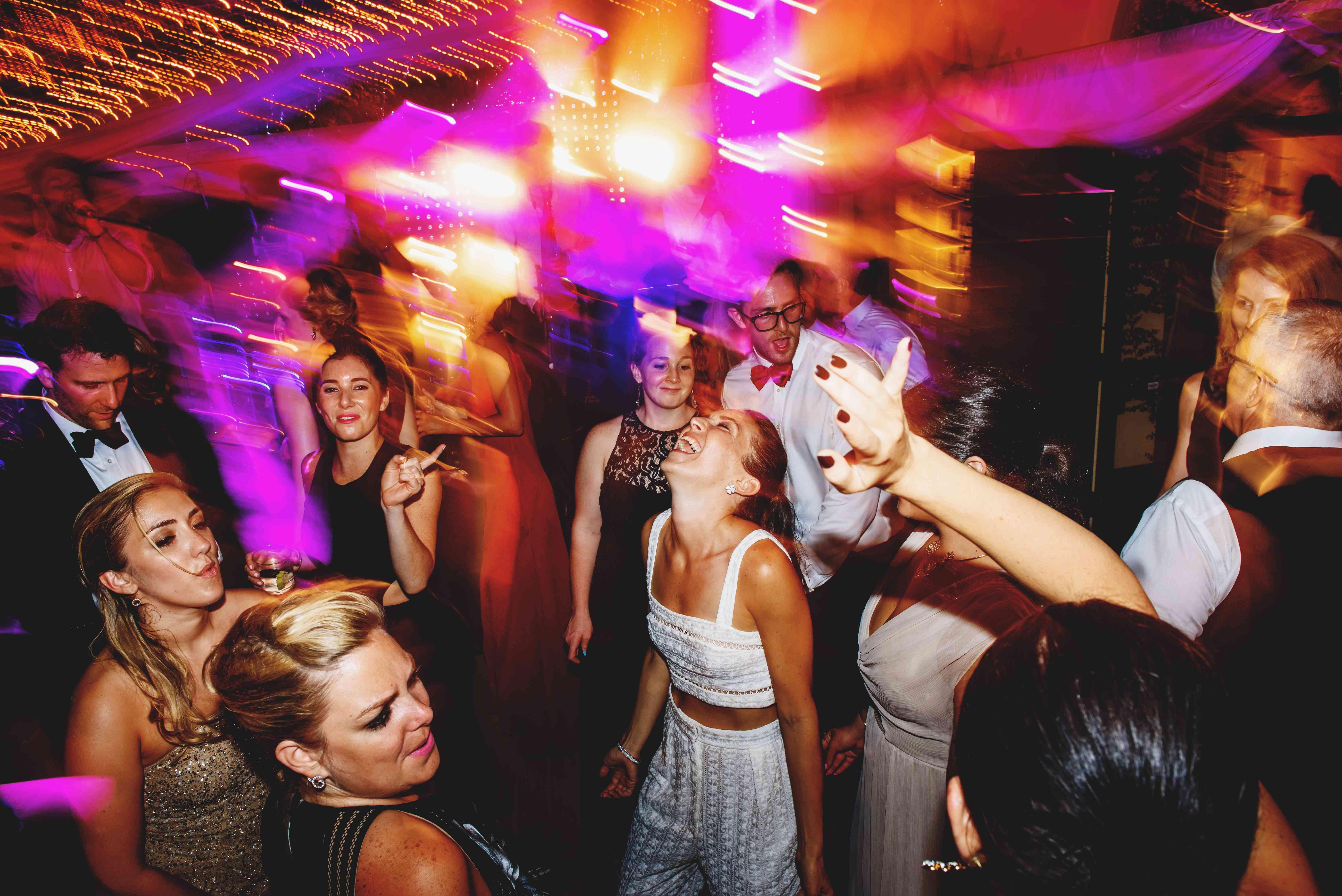 bride dancing afterparty