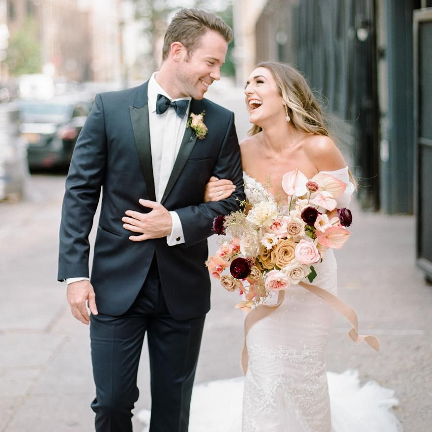 The Romantic Brooklyn Wedding Of Two Broadway Actors