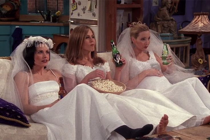 Friends 25th Anniversary The Best Friends Weddings