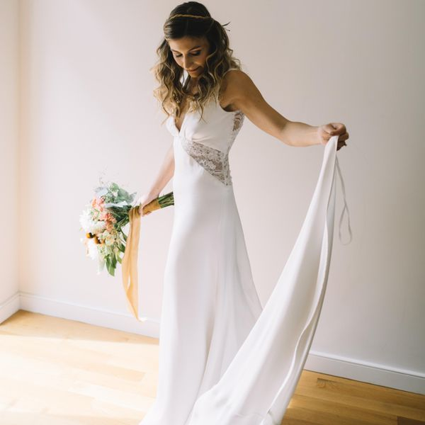 6 Traditional Wedding Dress Fabrics & Why They're Popular