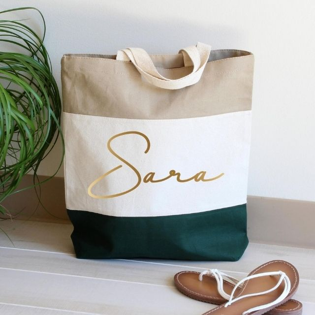 Etsy Personalized Tote Bag