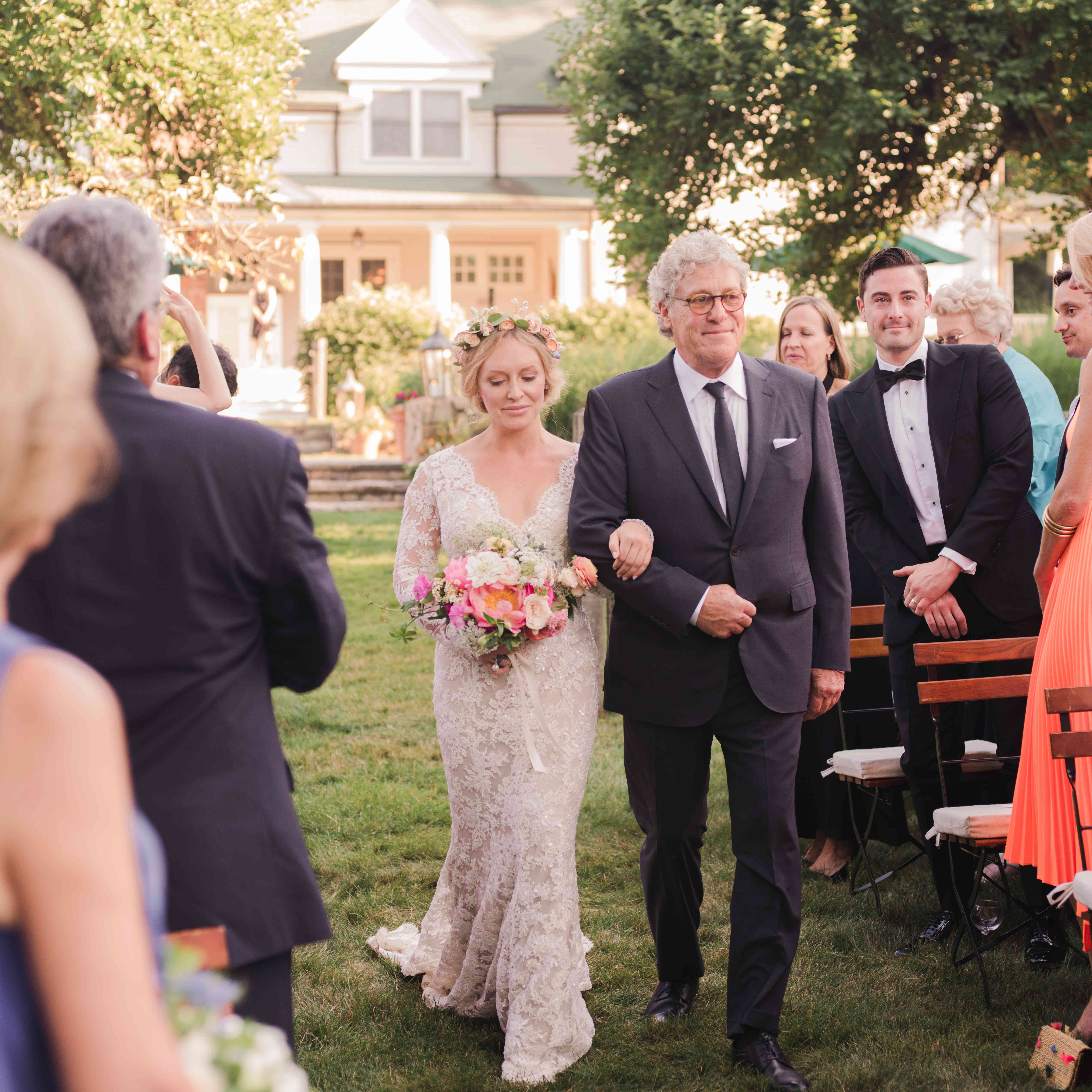 Annie Starke's Romantic At-Home Wedding In Bedford, New York