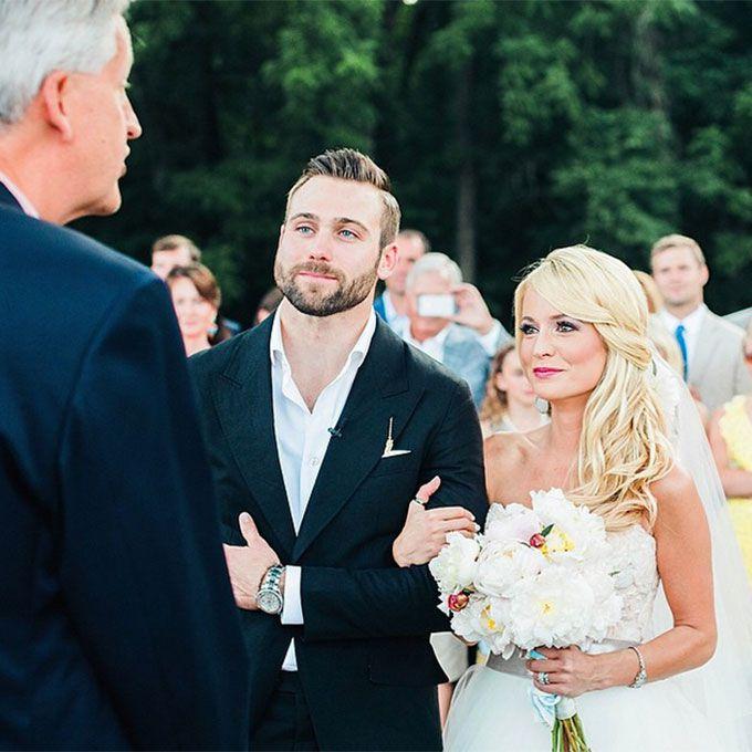 Bachelorette Emily Maynard marries Tyler Johnson in Modern Trousseau, 2014