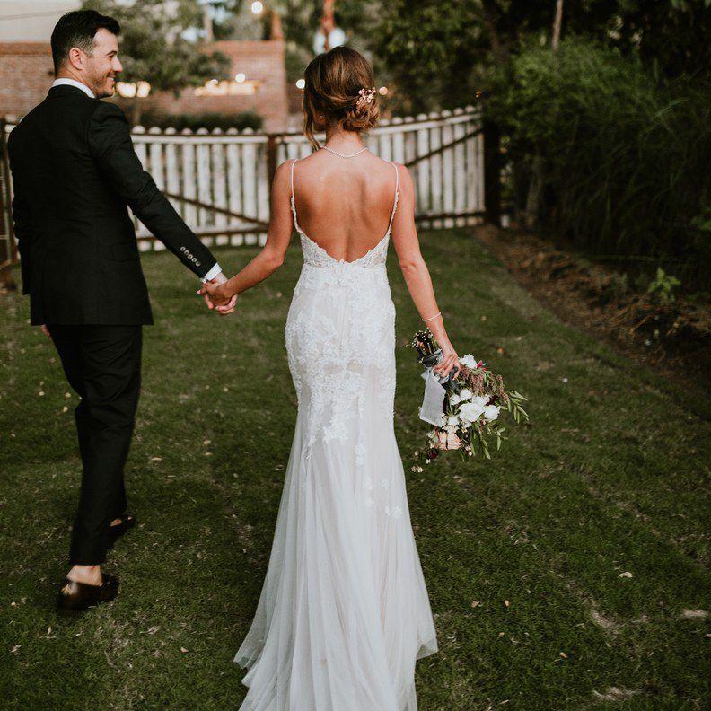bridal side bun