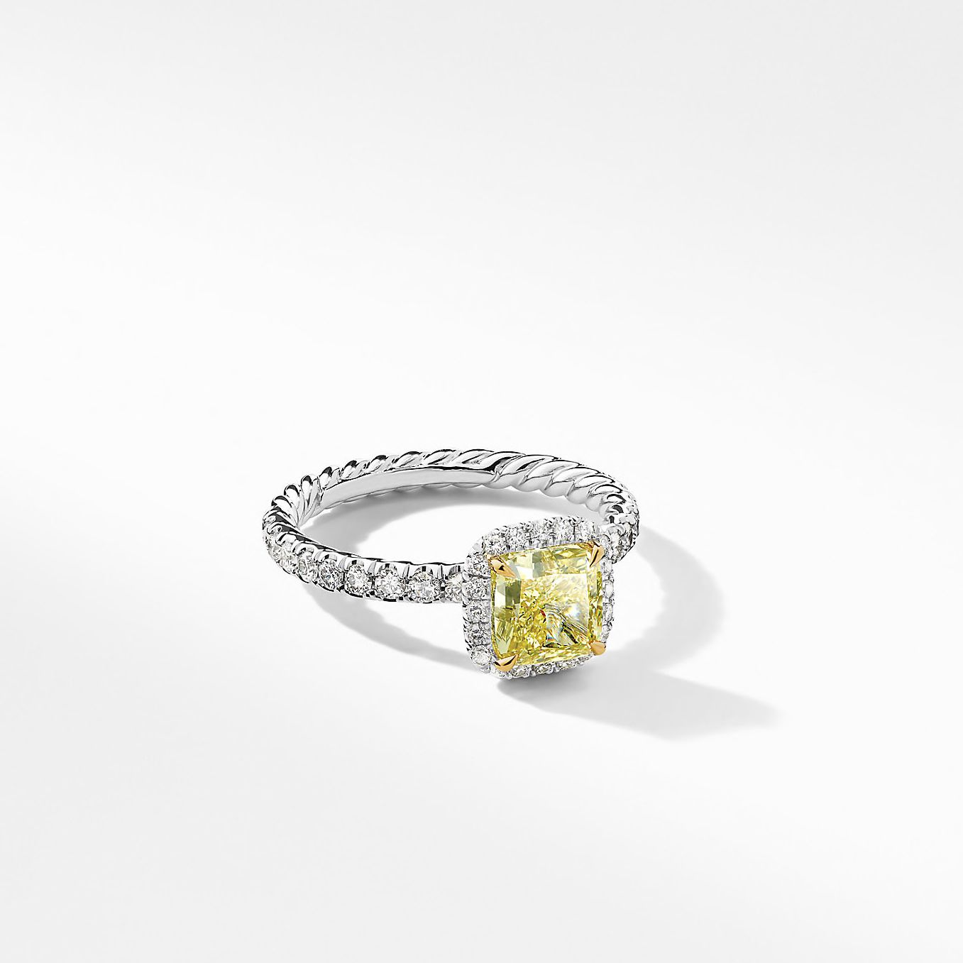 Yellow Diamond Engagement Rings The Complete Guide
