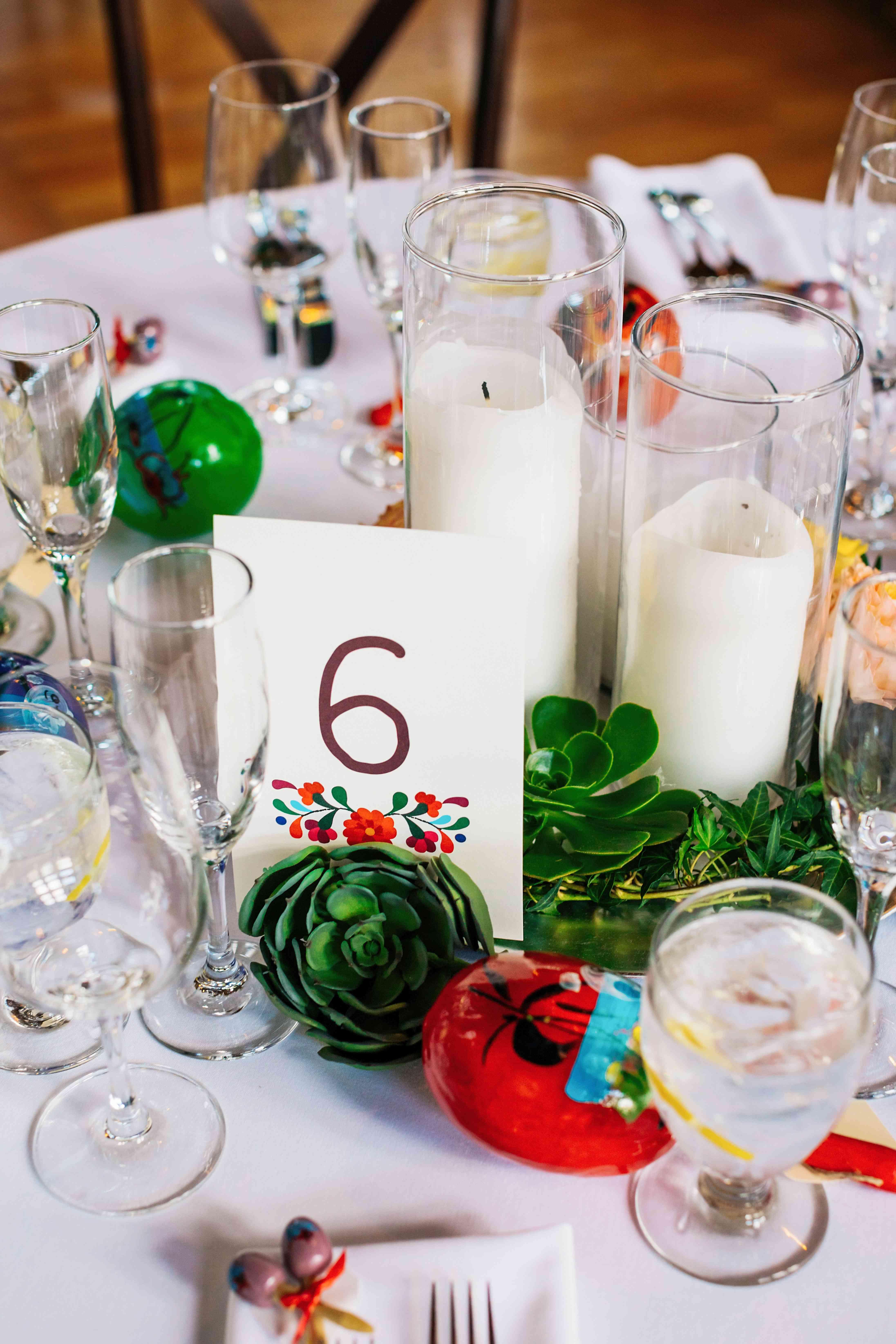 Table Setting with Maracas