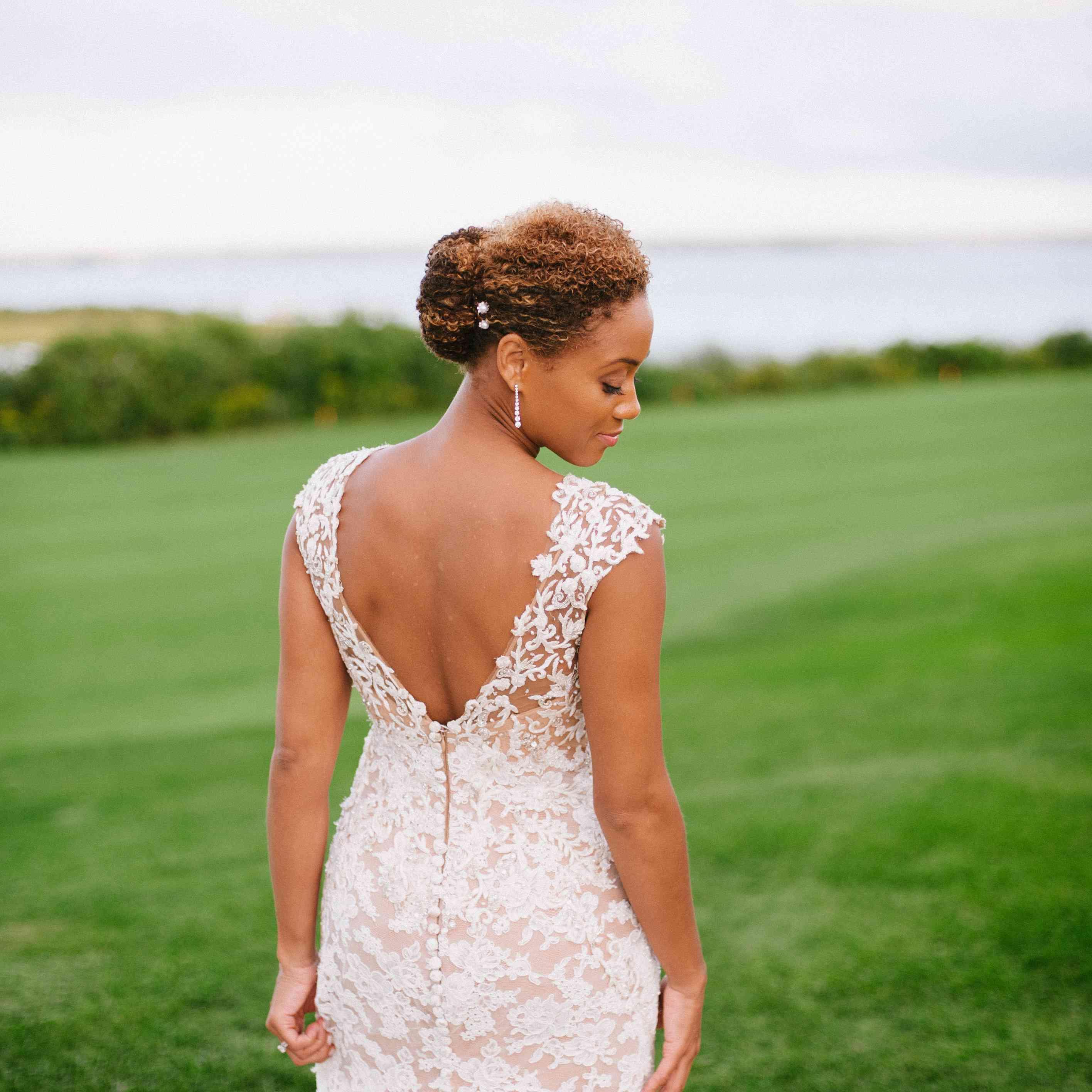 Beautiful Fishtail Braid Wedding Elegant Long Bridal Hair