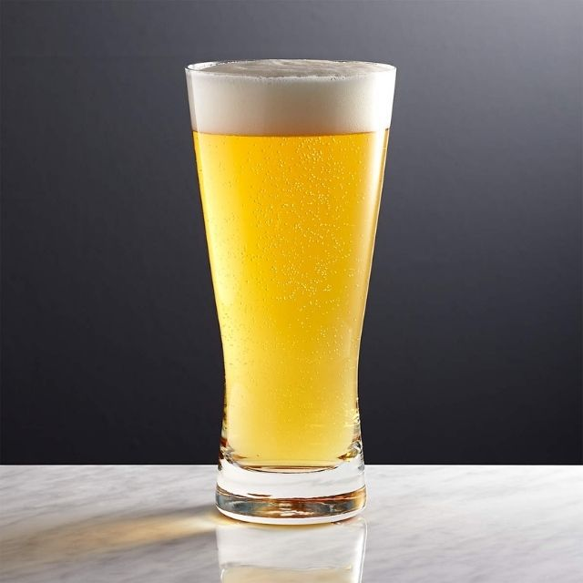Crate and Barrel Portland Beer Glass
