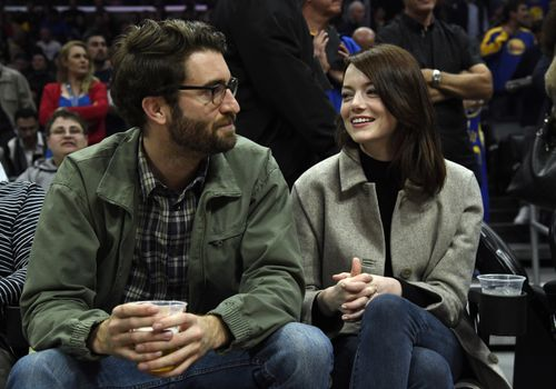 Emma Stone and Husband Dave McCary