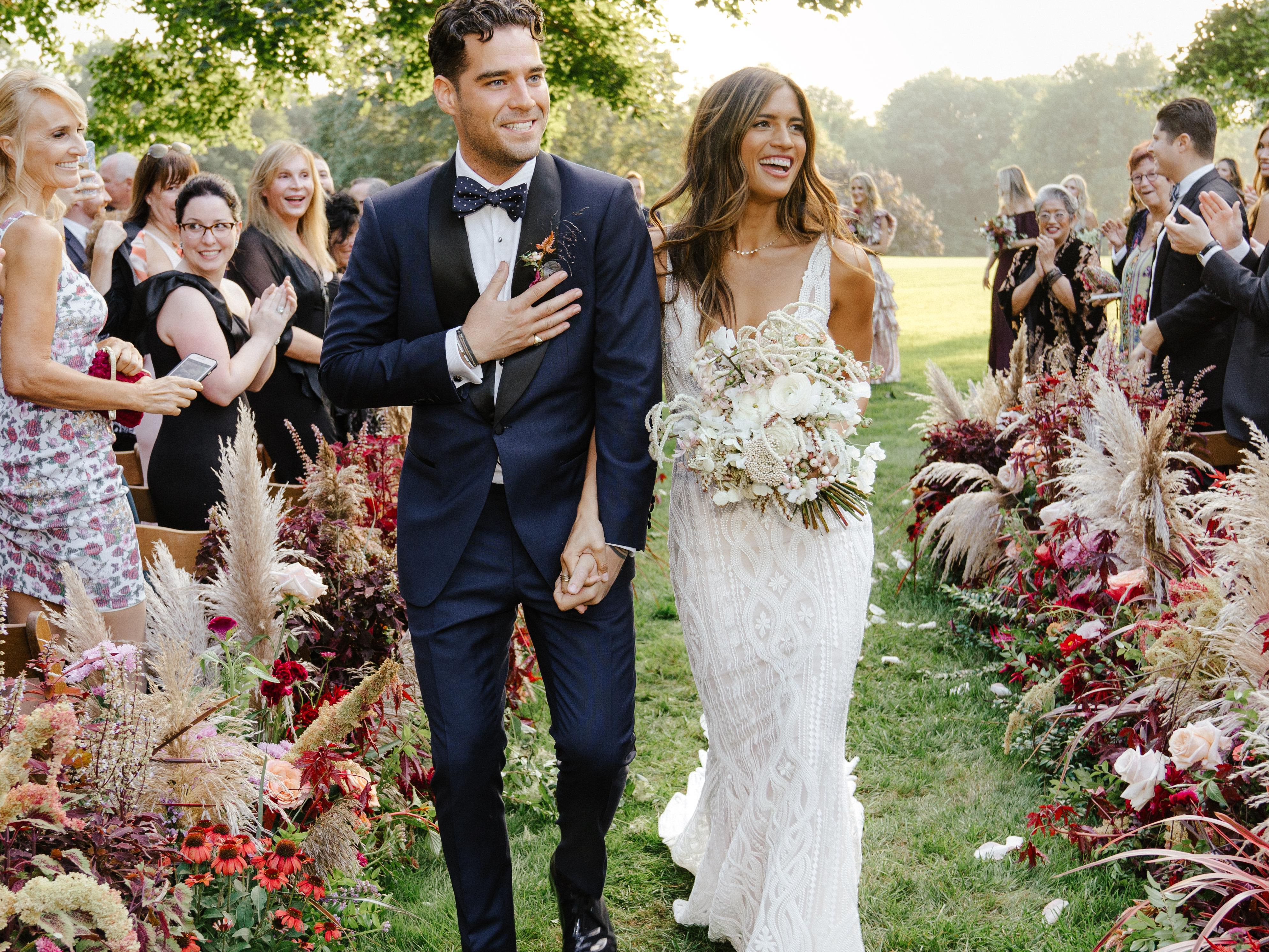 An Inside Look At Rocky Barnes And Matthew Cooper S Wedding
