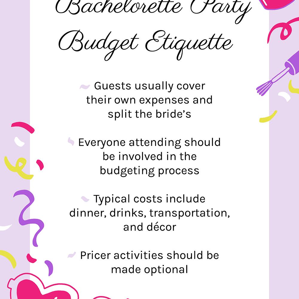 bachelorette party etiquette