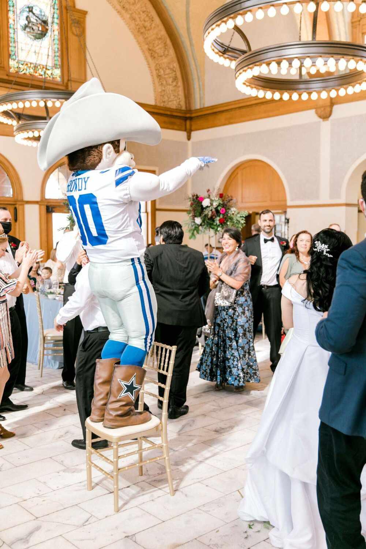 wedding entertainment mascot