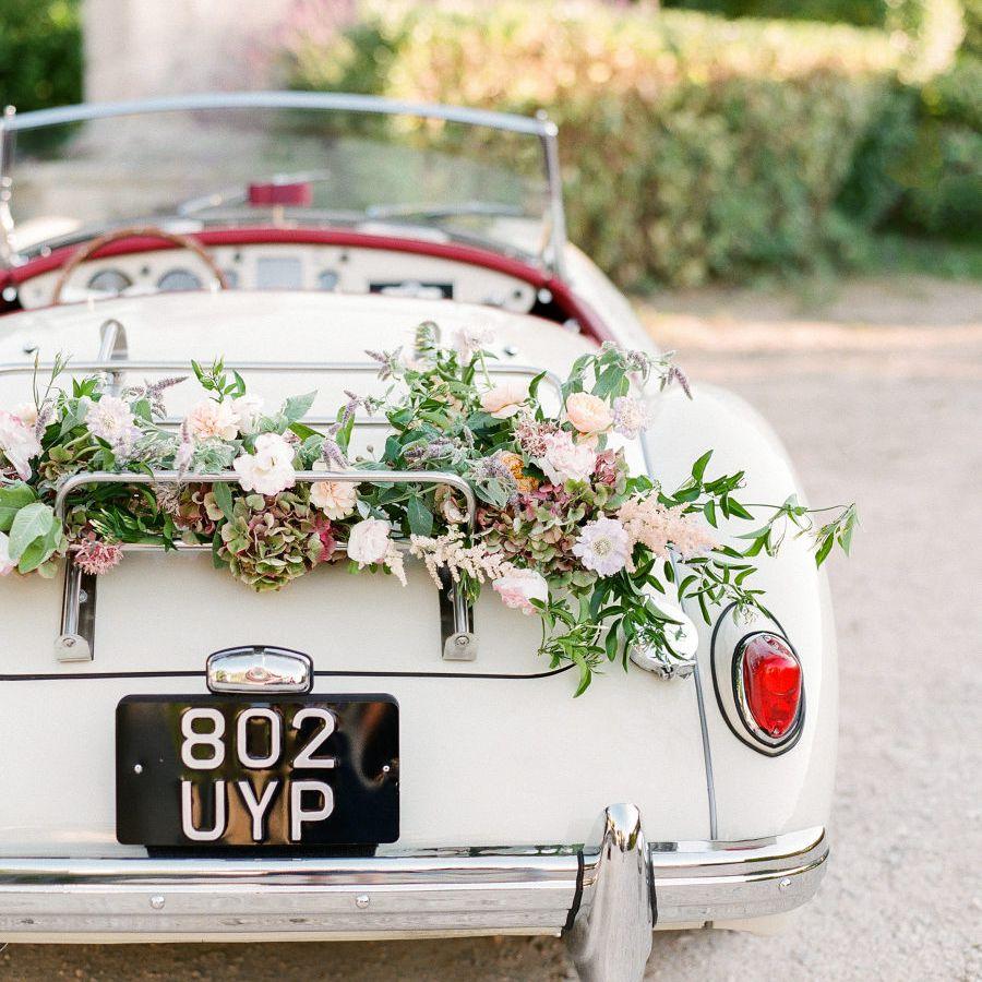 Lavender Getaway Car Decor