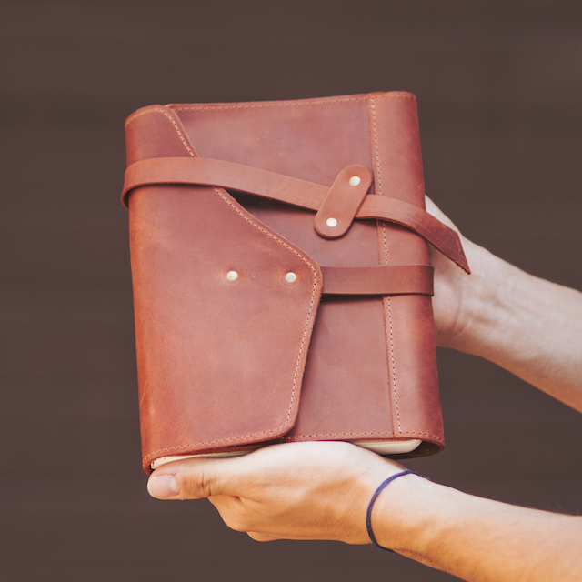 This is Leather Personalized Journal Leather Cover